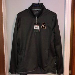 app state 3/4 zip jacket